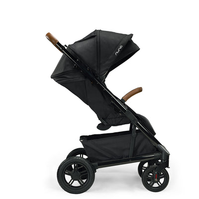 Nuna TAVO Next Stroller in Caviar side view