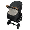 Nuna TAVO Next Stroller in Caviar back view