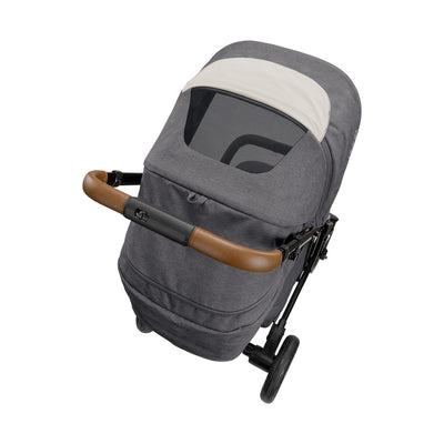 Nuna TAVO Next Stroller in Granite top view