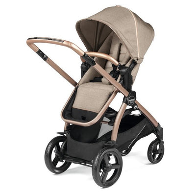 Peg Perego YPSI Stroller in Mon Amour Rose Gold with seat reversed