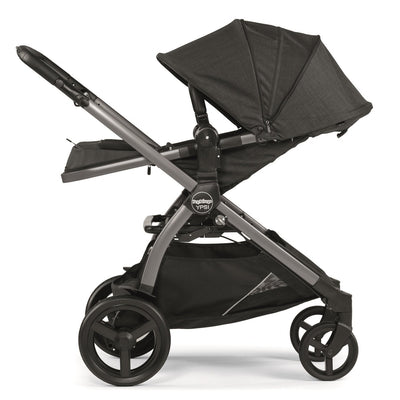Peg Perego YPSI Travel System in Onyx with seat reclined