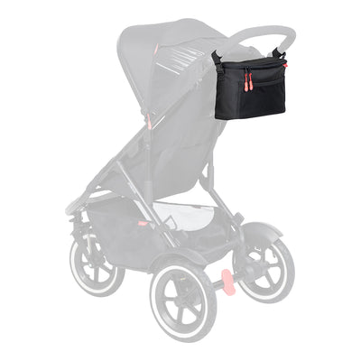Phil&teds Caddy on Sport stroller