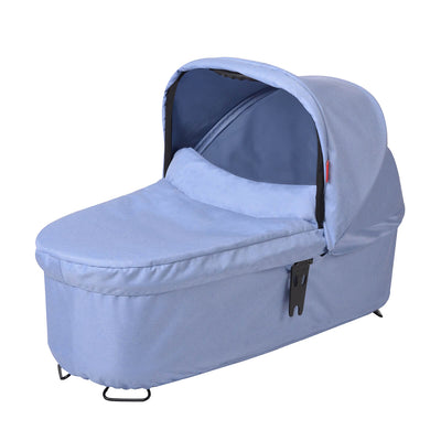 Phil&teds Dash Snug Carrycot in Blue Marl