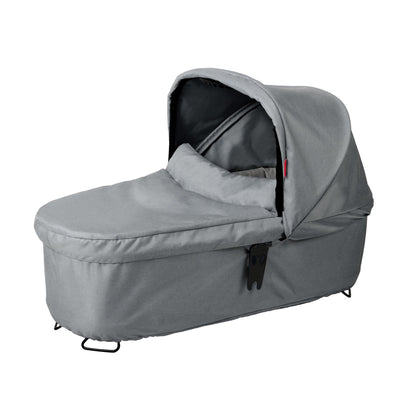 Phil&teds Dash Snug Carrycot in Grey Marl