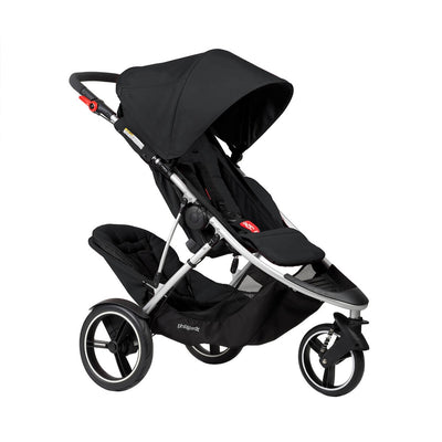 Phil&teds Dash Stroller + Double Kit in Black