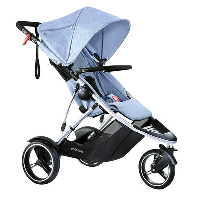 Phil&teds Dash Stroller in Blue Marl