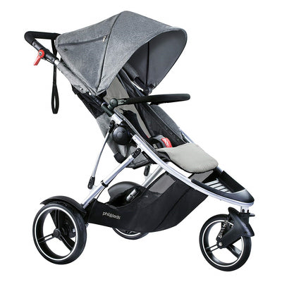 Phil&teds Dash Stroller in Grey Marl