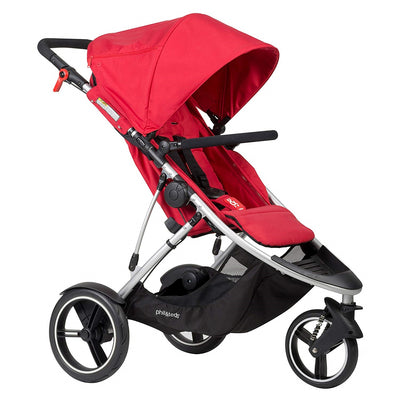 Phil&teds Dash Stroller in Red