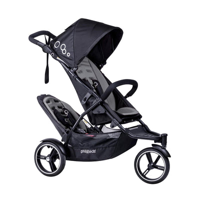 Phil&teds Dot Stroller + Double Kit in Graphite
