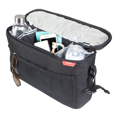 Phil&teds Igloo Inline® Storage caddy with items inside