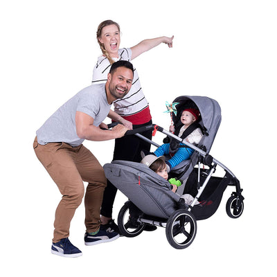 Phil&teds Voyager Stroller + Double Kit