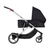 Phil&teds Voyager Stroller in Black with bassinet