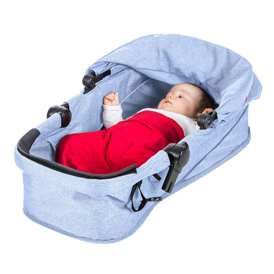 Phil&teds Voyager Stroller Bassinet in Blue Marl