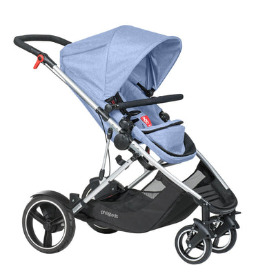Phil&teds Voyager Stroller in Blue Marl
