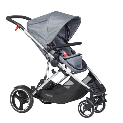 Phil&teds Voyager Stroller in Grey Marl