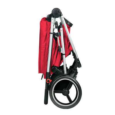 Phil&teds Voyager Stroller in Red folded
