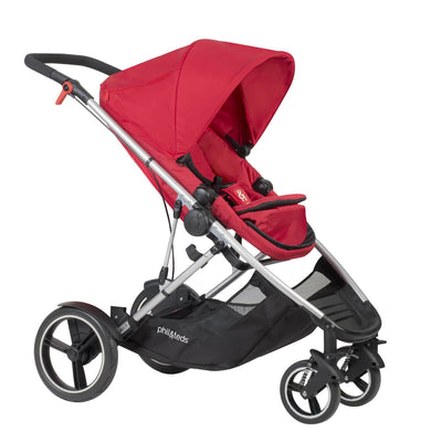 Phil&teds Voyager Stroller in Red