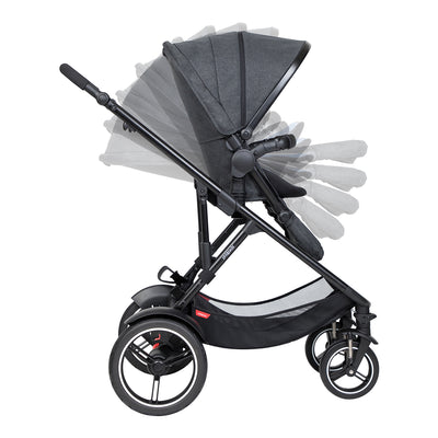 Phil&teds Voyager 2019 Stroller reclining