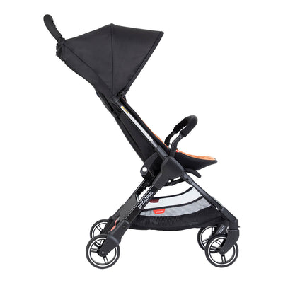 Phil&teds GO™ Lightweight Stroller in Rust side view