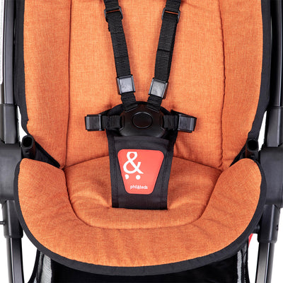 Phil&teds GO™ Lightweight Stroller liner in Rust