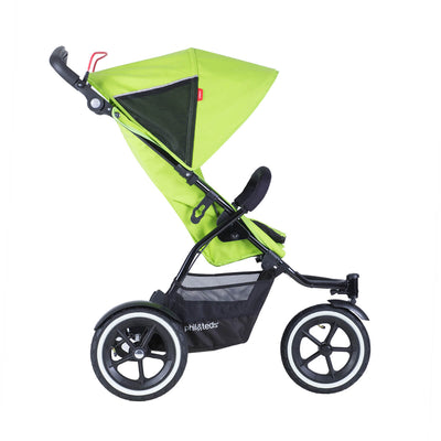 Phil&teds Sport Stroller in Apple side view