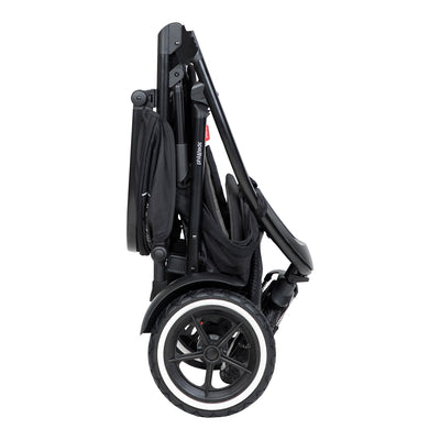 Phil&teds Sport 2019 Stroller folded and standing