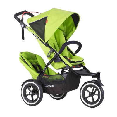 Phil&teds Sport Stroller in Apple with Double Kit
