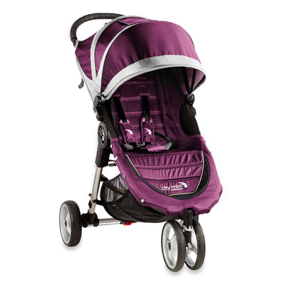 Baby Jogger City Mini® Stroller in Purple and Grey
