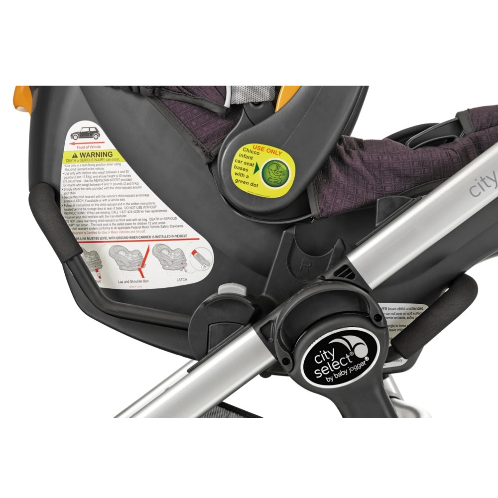 Baby Jogger City Select Lux Premier Car Seat Adapter For Chicco
