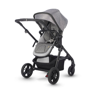 Silver Cross Coast Stroller in Limestone with seat reversed