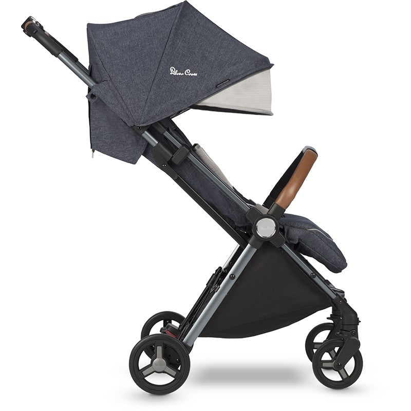 d1b02fa1c08 Silver Cross Jet Ultra Compact Special Edition Stroller in Orkney side view