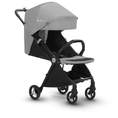 Silver Cross Jet Ultra Compact Stroller in Sterling reclining