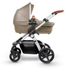 Silver Cross Wave Stroller in Linen with Bassinet