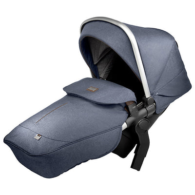 Silver Cross Wave Stroller Tandem Second Seat in Midnight Blue