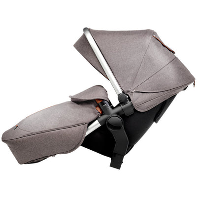Silver Cross Wave Stroller Tandem Second Seat in Sable side view