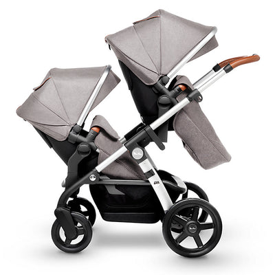 Silver Cross Wave Stroller Tandem Second Seat in Sable on Wave Stroller