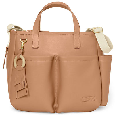 Skip Hop Greenwich Simply Chic Tote in Caramel