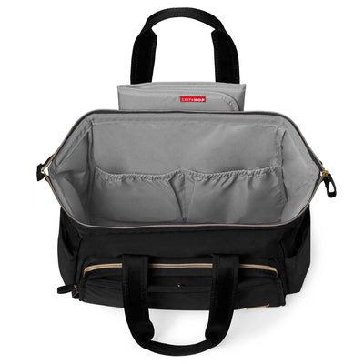 Skip Hop Mainframe Wide Open Diaper Satchel