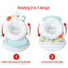 Skip Hop Silver Lining Cloud 2-In-1 Activity Infant Seat
