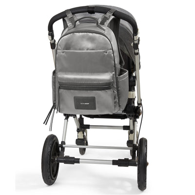 Skip Hop Skyler Diaper Backpack on stroller