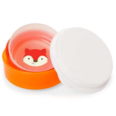 Skip Hop Zoo Smart Serve Non-Slip Bowl Set in Fox