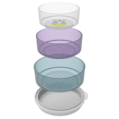 Skip Hop Zoo Smart Serve Non-Slip Bowl Set in Unicorn