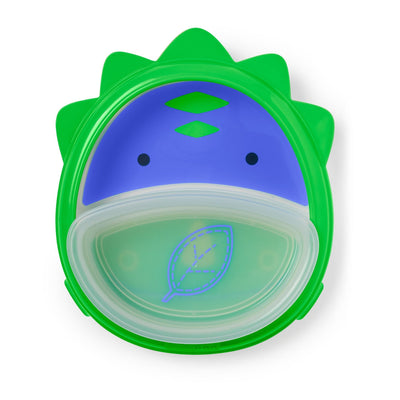 Skip Hop Zoo Smart Serve Plate & Bowl in Dino