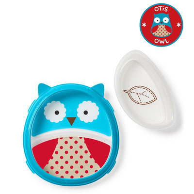 Skip Hop Zoo Smart Serve Plate & Bowl in Owl