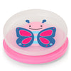 Skip Hop Zoo Smart Serve Non-Slip Plates in Butterfly