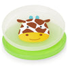 Skip Hop Zoo Smart Serve Non-Slip Plates in Giraffe