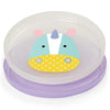 Skip Hop Zoo Smart Serve Non-Slip Plates in Unicorn
