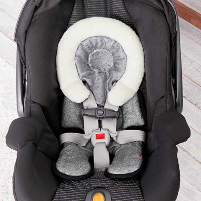Car Seat with Skip Hop Stroll & Go Cool Touch Infant Support in Heather Grey