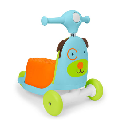 Skip Hop Zoo 3-In-1 Ride On Toy in Dog
