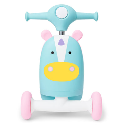 Skip Hop Zoo 3-In-1 Ride On Toy in Unicorn
